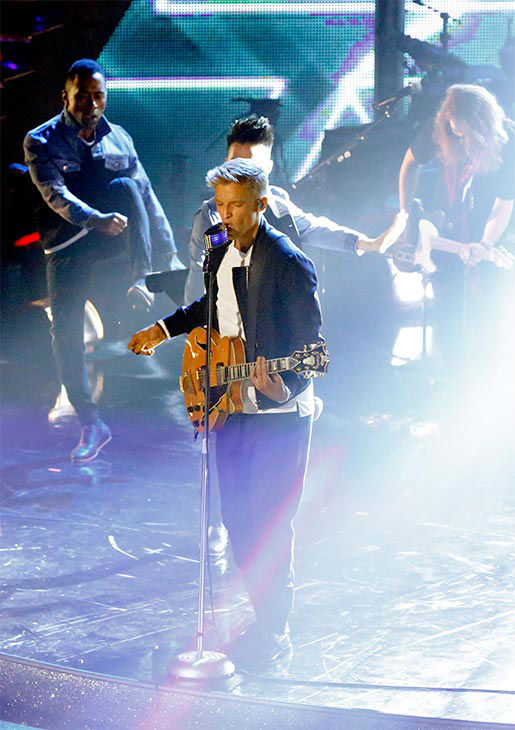 "<div class=""meta ""><span class=""caption-text "">Season 18 contestant Cody Simpson performs his single 'Surfboard' during the season 18 finale of 'Dancing With the Stars' on May 20, 2014. (ABC Photo)</span></div>"
