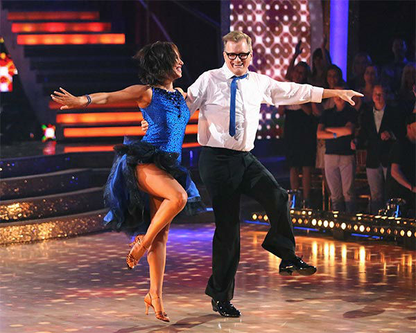 "<div class=""meta ""><span class=""caption-text "">Drew Carey and his pro partner Cheryl Burke danced to 'You Can't Sit Down' during the season 18 finale of 'Dancing With The Stars' on May 20, 2014. (ABC Photo)</span></div>"