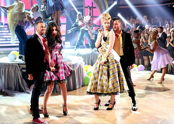 Iggy Azalea and Charli XCX performed their hit &#39;Fancy&#39; during the season 18 finale of &#39;Dancing With the Stars&#39; on May 20, 2014. <span class=meta>(ABC Photo)</span>