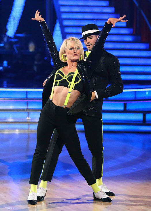 "<div class=""meta ""><span class=""caption-text "">James Maslow and Peta Murgatroyd performed an encore of their week 9 Cha Cha Cha routine to Michael Jackson's 'Love Never Felt So Good' during the season 18 finale of 'Dancing With The Stars' on May 20, 2014. (ABC Photo)</span></div>"