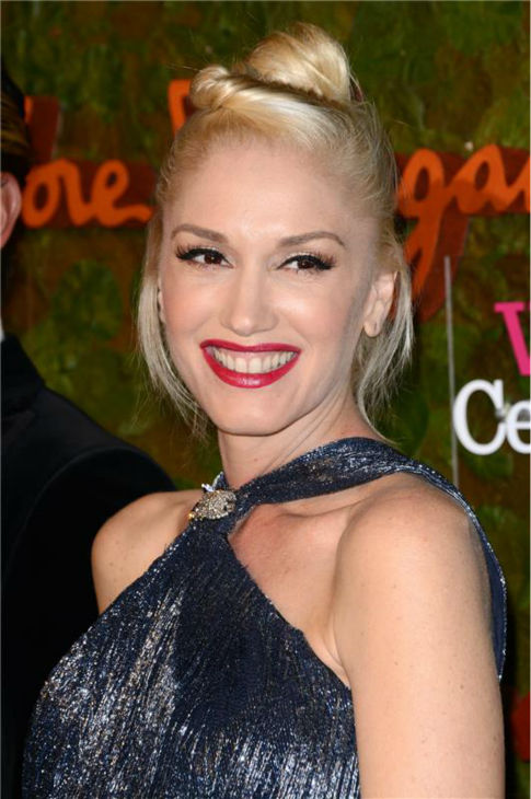 Gwen Stefani attends the Wallis Annenberg Center for the Performing Arts Inaugural Gala, presented by Salvatore Ferragamo, at the Wallis Annenberg Center in Beverly Hills on Oct. 17, 2013. <span class=meta>(Lionel Hahn &#47; AbacaUSA &#47; Startraksphoto.com)</span>