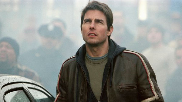 Tom Cruise appears in a scene from the 2005...
