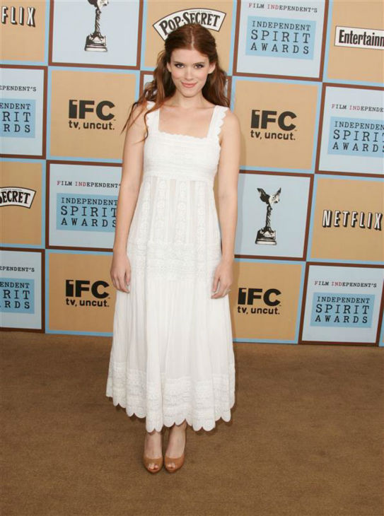 "<div class=""meta ""><span class=""caption-text "">Kate Mara appears at the 2006 Independent Spirit Awards in Santa Monica, California on March 4, 2006.  (Jen Lowery / Startraksphoto.com)</span></div>"