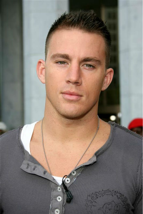 The &#39;Come-On-Make-It-Five&#39; stare: Channing Tatum appears in New York on Aug. 11, 2006. <span class=meta>(Michael Simon &#47; Startraksphoto.com)</span>