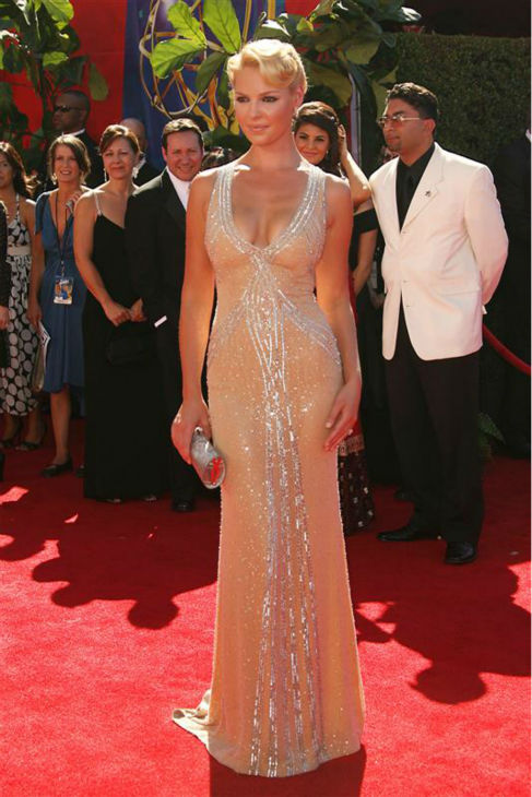 Katherine Heigl appears at the 2006 Emmy Awards in Los Angeles on Aug. 27, 2006. <span class=meta>(Jen Lowery &#47; Startraksphoto.com)</span>