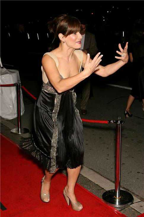 Sandra Bullock appears at the 31st annual Toronto International Film Festival premiere of 'INFAMOUS' in Toronto, Ontario on Sept. 14, 2006.