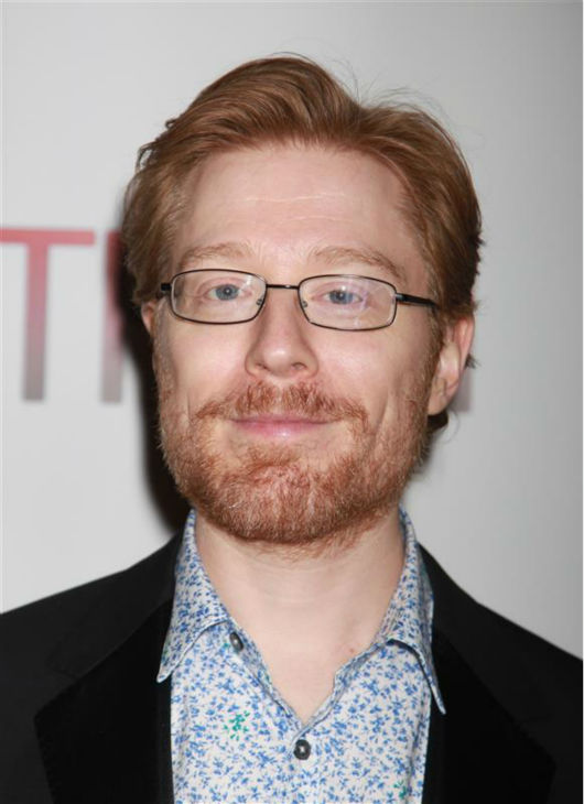 Anthony Rapp attends the opening night of the new Broadway musical &#39;If&#47;Then&#39; at the Richard Rodgers Theatre in New York on March 30, 2014. He is one of the cast members, as is his former &#39;Rent&#39; co-star Idina Menzel. In &#39;Rent,&#39; a hit 1990s musical, the two played former couple Mark and Maureen. <span class=meta>(Adam Nemser &#47; Startraksphoto.com)</span>