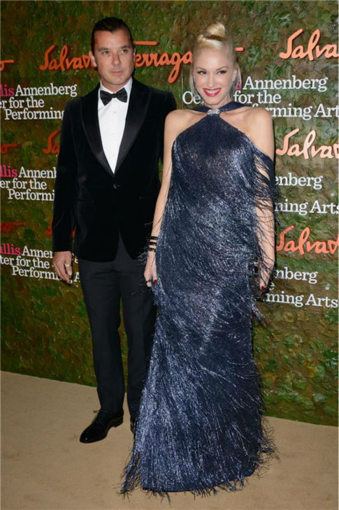 "<div class=""meta ""><span class=""caption-text "">Gavin Rossdale and Gwen Stefani attend the Wallis Annenberg Center for the Performing Arts Inaugural Gala, presented by Salvatore Ferragamo, at the Wallis Annenberg Center in Beverly Hills on Oct. 17, 2013. (Lionel Hahn / AbacaUSA / Startraksphoto.com)</span></div>"