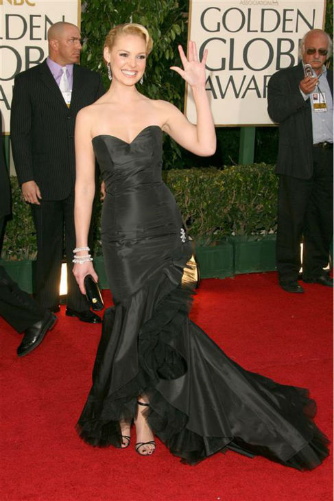 Katherine Heigl appears at the 2007 Golden Globe Awards in Beverly Hills, California on Jan. 15, 2007. <span class=meta>(Jen Lowery &#47; Startraksphoto.com)</span>