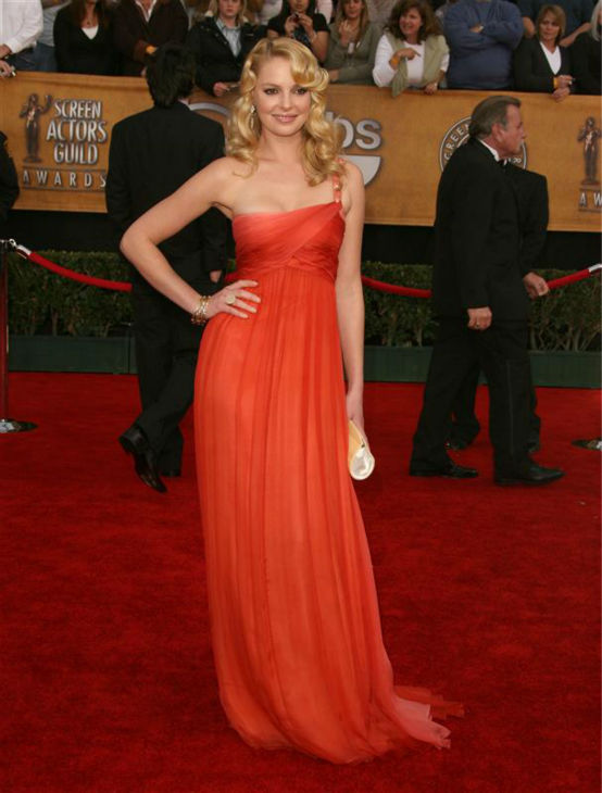 Katherine Heigl appears at the 2007 Screen Actors Guild &#40;SAG&#41; Awards in Los Angeles on Jan. 28, 2007. <span class=meta>(Jen Lowery &#47; Startraksphoto.com)</span>
