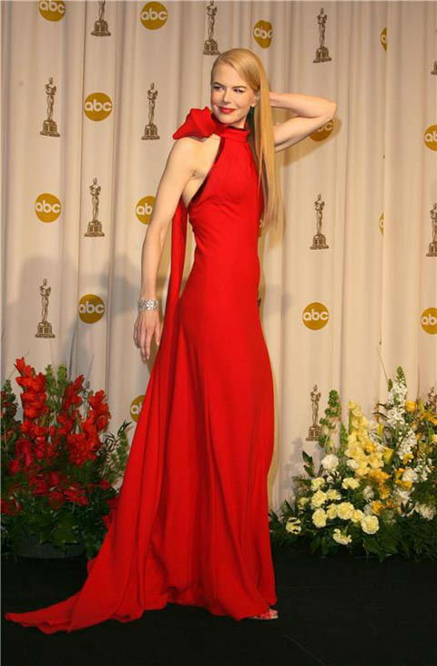 Nicole Kidman appears at the 79th Annual Academy Awards  on Feb. 25, 2007.