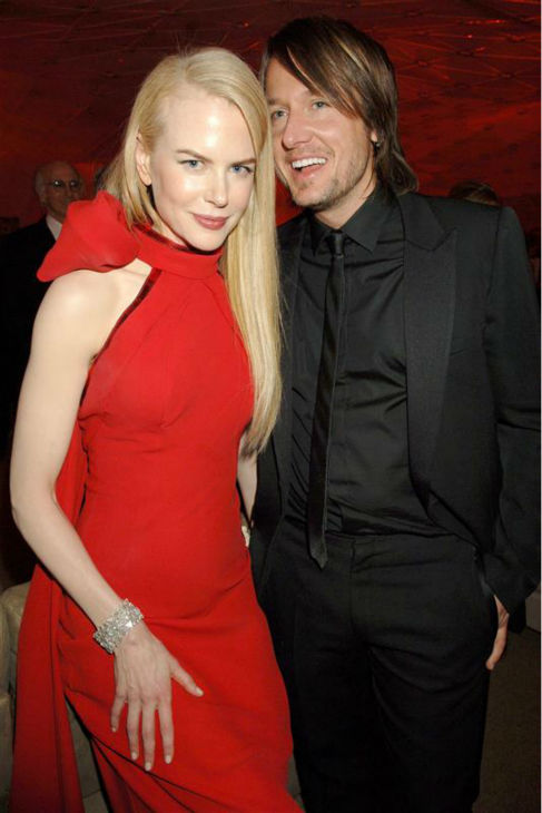 Nicole Kidman and country star Keith Urban appear at Vanity Fair&#39;s 2007 post-Oscars party in West Hollywood, California on Feb. 25, 2007. The two wed in June 2006 and have two daughters together. Kidman also shares a son and daughter with ex-husband Tom Cruise. <span class=meta>(Richard Young &#47; Startraksphoto.com)</span>