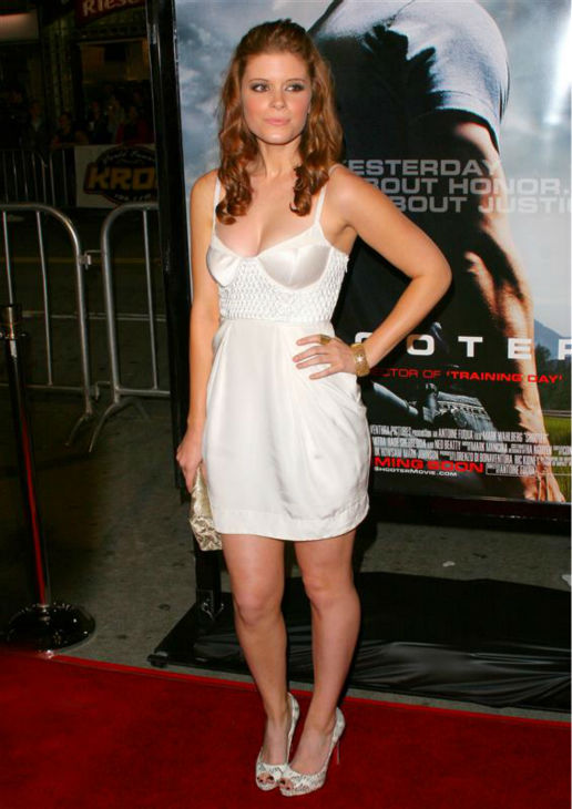 Kate Mara appears at the premiere of &#39;Shooter&#39; in Los Angeles on March 8, 2007.   <span class=meta>(Michael Williams &#47; Startraksphoto.com)</span>