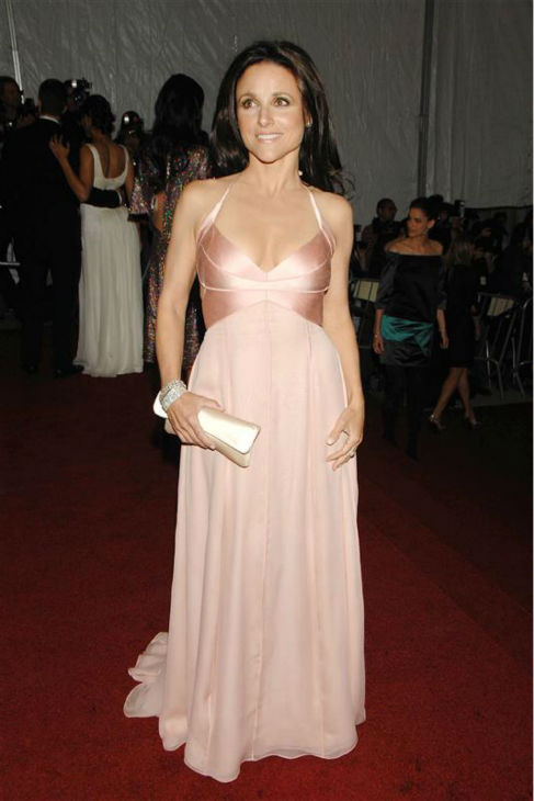 Julia Louis-Dreyfus appears at the 2007 Poiret: King of Fashion Costume Institute Gala at the Metropolitan Museum of Art in New York on May 7, 2007. <span class=meta>(Bill Davila &#47; Startraksphoto.com)</span>