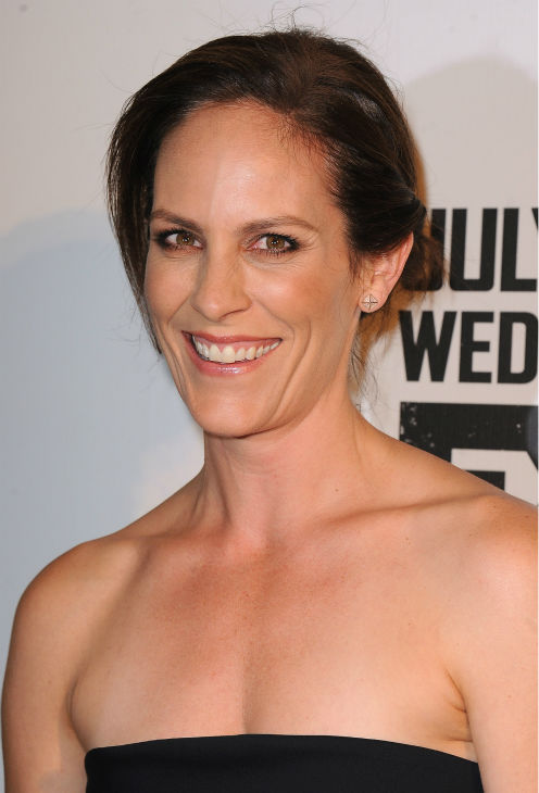 Annabeth Gish attends the premiere of the new FX series &#39;The Bridge&#39; in Los Angeles on July 8, 2013. <span class=meta>(Scott Kirkland &#47; Invision for FX Network &#47; AP Images)</span>