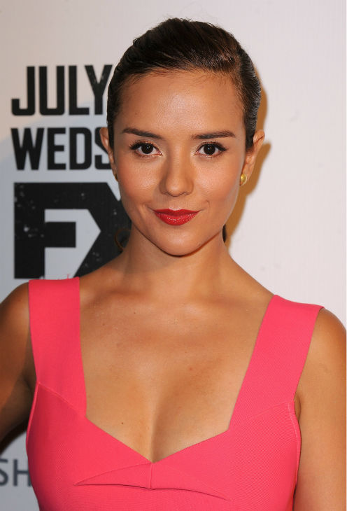 Catalina Sandino Moreno attends the premiere of the new FX series &#39;The Bridge&#39; in Los Angeles on July 8, 2013. <span class=meta>(Scott Kirkland &#47; Invision for FX Network &#47; AP Images)</span>