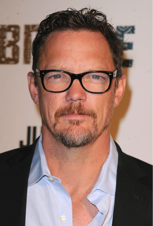 Matthew Lillard attends the premiere of the new FX series 'The Bridge' in Los Angeles on July 8, 2013.