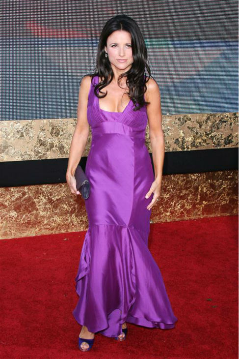 Julia Louis-Dreyfus appears at the 2007 Emmy Awards in Los Angeles on Sept. 16, 2007. <span class=meta>(Jen Lowery &#47; Startraksphoto.com)</span>