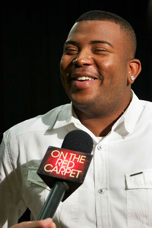 Curtis Finch Jr. talks to OTRC.com at a rehearsal for the &#39;American Idol LIVE!&#39; 2013 summer tour in Burbank, California on July 9, 2013. He is one of 11 singers who competed during the recent 12th season, coming in 10th place, and will perform at 30 concerts across the United States and Canada, from July 19 to Aug. 31. <span class=meta>(Aaron Frank &#47; OTRC)</span>