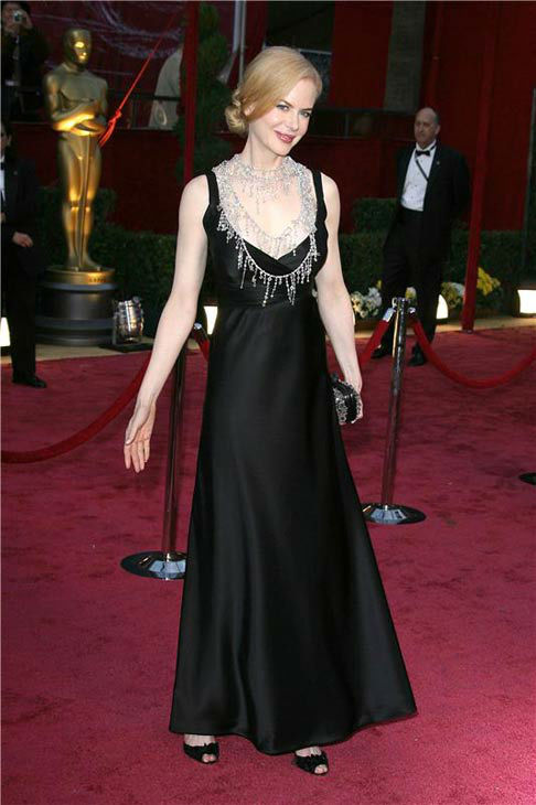 Nicole Kidman appears at the 80th Annual Academy Awards on Feb. 24, 2008.
