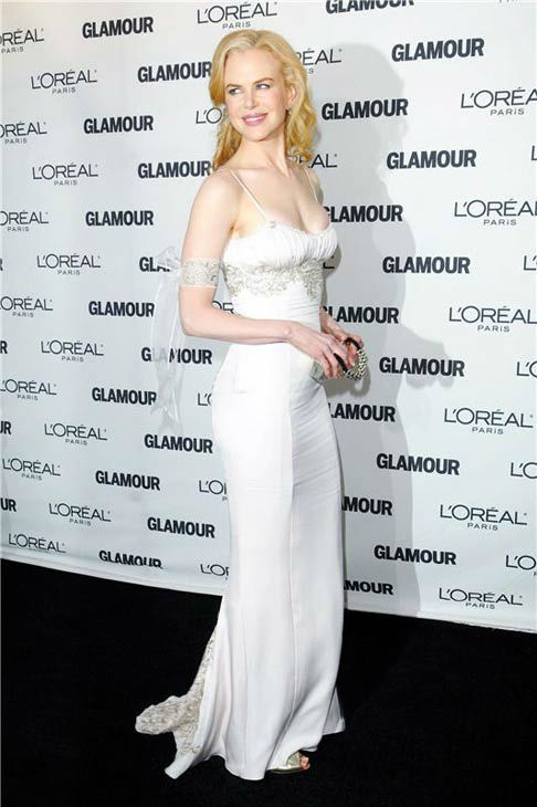 Nicole Kidman appears at Glamour Magazine's 2008 Women of the Year Awards on Nov. 10, 2008.