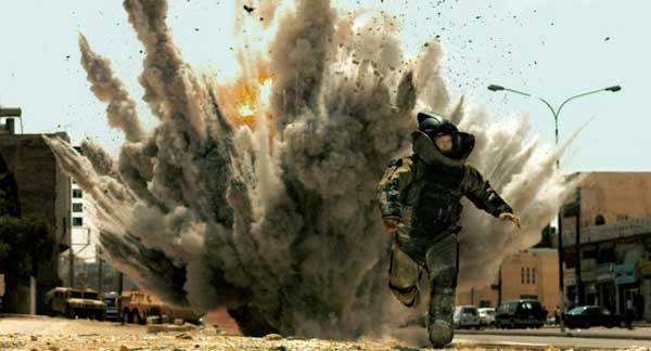 A scene from the 2010 film 'The Hurt Locker.'