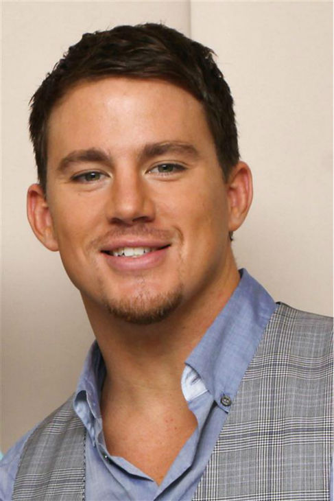 The &#39;Blue-Collar-Meets-Preppy&#39; stare: Channing Tatum appears at a press conference for the movie &#39;G.I. Joe: The Rise of Cobra&#39; at the Waldorf Astoria hotel in New York on Aug. 3, 2009. <span class=meta>(Ian Daniels &#47; Startraksphoto.com)</span>