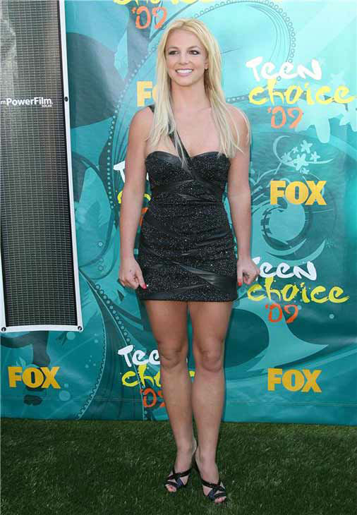Britney Spears appears at the 2009 Teen Choice Awards in Los Angeles, California on Aug. 9, 2009.  <span class=meta>(Jen Lowery &#47; startraksphoto.com)</span>