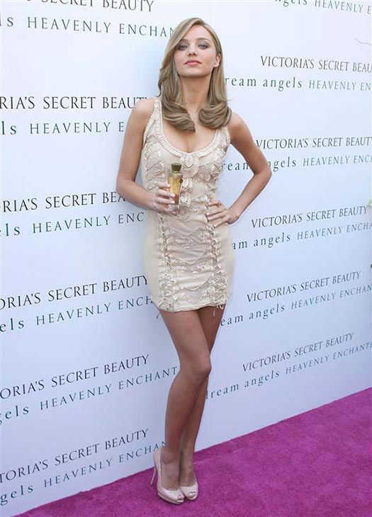 Miranda Kerr appears at the launch of Heavenly Enchanted fragrance by Victoria&#39;s Secret on Aug. 26, 2009. <span class=meta>(Andy Fossum&#47;startraksphoto.com)</span>