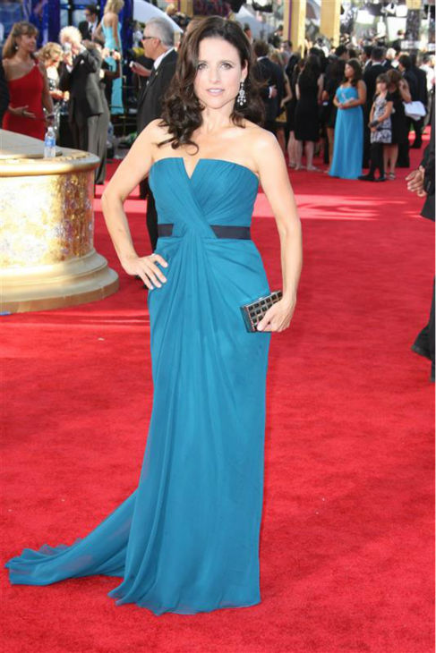 Julia Louis-Dreyfus appears at the 2009 Emmy Awards in Los Angeles on Sept. 20, 2009. <span class=meta>(Jen Lowery &#47; Startraksphoto.com)</span>