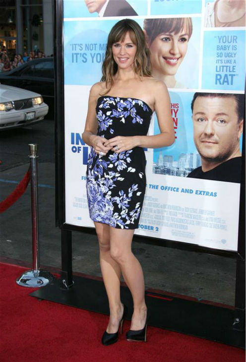 "<div class=""meta ""><span class=""caption-text "">Jennifer Garner appears at the premiere of the comedy film 'The Invention of Lying' in Los Angeles on Sept. 21, 2009. (Jen Lowery / Startraksphoto.com)</span></div>"