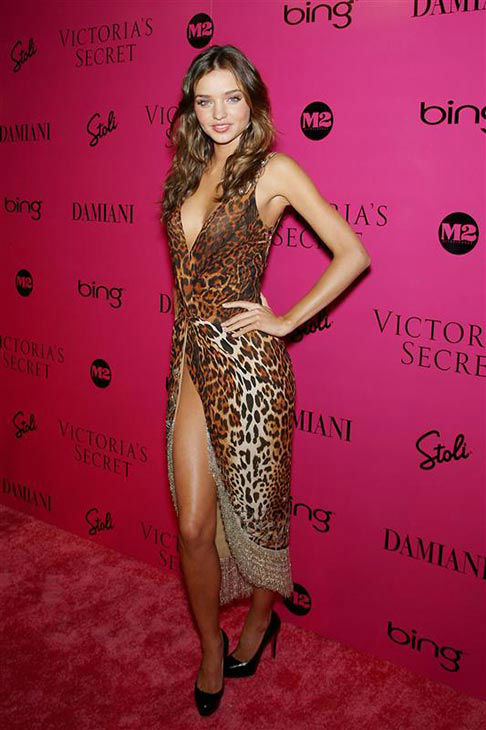 Miranda Kerr appears at the 2009 Victoria&#39;s Secret Fashion Show on Nov. 20, 2009.  <span class=meta>(Marion Curtis&#47;StarPix)</span>