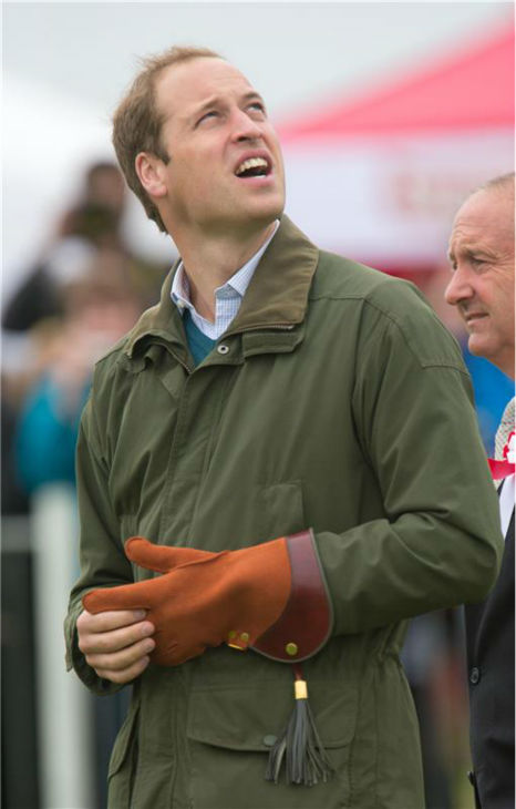 Prince William, Duke of Cambridge, prepare