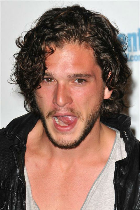 The &#39;Jon-Snow-Knows-Nothing-At-A-2011-San-Diego-Comic-Con-Celebration&#39; stare. &#40;Kit Harington appears at the event, hosted by Entertainment Weekly, in San Diego, California on July 23, 2011.&#41; <span class=meta>(Tony DiMaio &#47; Startraksphoto.com)</span>