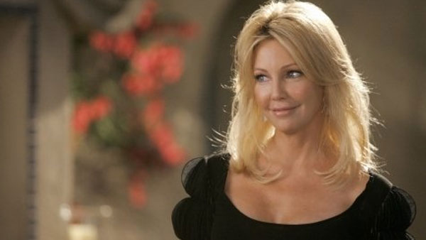 Heather Locklear appears in a scene from...