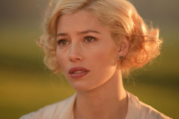 Jessica Biel appears in a still from the 2009 film, 'Easy Virtue.'