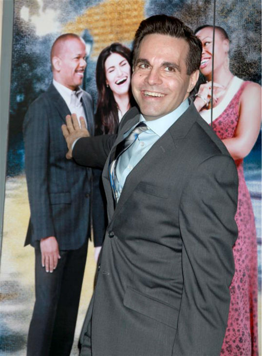 Mario Cantone of &#39;Sex and the City&#39; fame attends the opening night of the new Broadway musical &#39;If&#47;Then&#39; at the Richard Rodgers Theatre in New York on March 30, 2014. <span class=meta>(Adam Nemser &#47; Startraksphoto.com)</span>