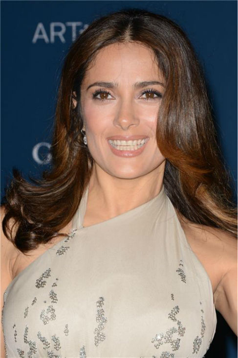Salma Hayek appears at the LACMA Art and Film Gala, honoring Martin Scorsese And David Hockney, at the Los Angeles County Museum of Art on Nov. 2, 2013. <span class=meta>(Lionel Hahn &#47; AbacaUSA &#47; Startraksphoto.com)</span>