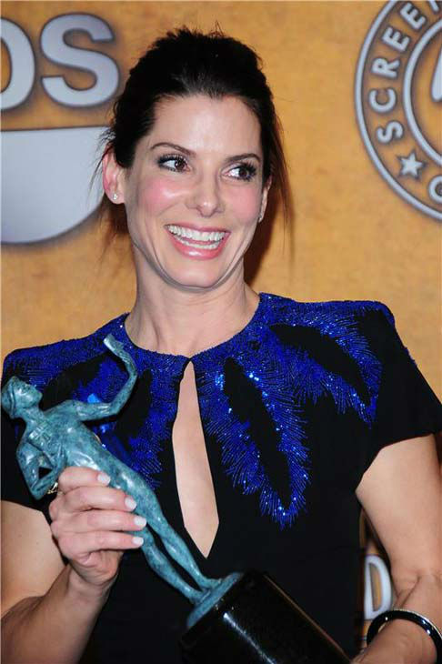 "<div class=""meta ""><span class=""caption-text "">Sandra Bullock appears at the 16th annual Screen Actors Guild Awards in Los Angeles, California on Jan. 23, 2010.  (Kyle Rover / startraksphoto.com)</span></div>"
