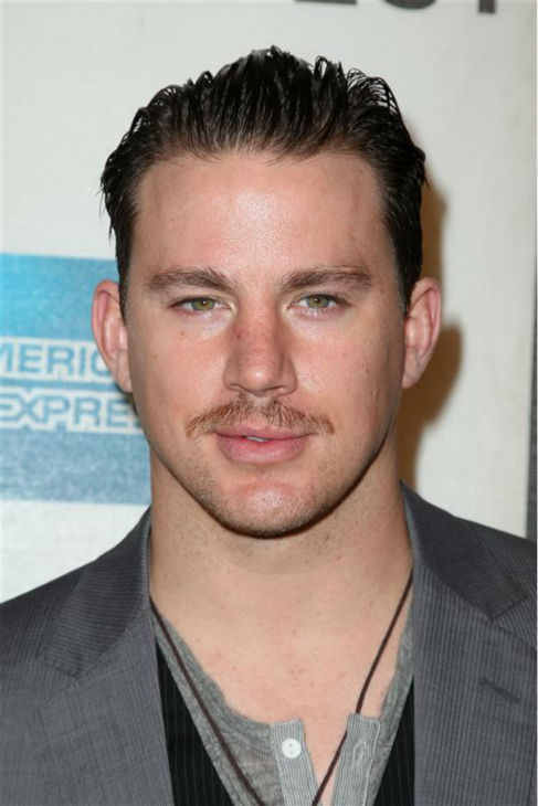 The &#39;Burt-Reynolds-Wishes-He-Had-My-Sexy-Stare&#39; stare: Channing Tatum appears at the premiere of &#39;Earth Made of Glass&#39; at the 2010 Tribeca Film Festival in New York on April 26, 2010. <span class=meta>(Amanda Schwab &#47; Startraksphoto.com)</span>
