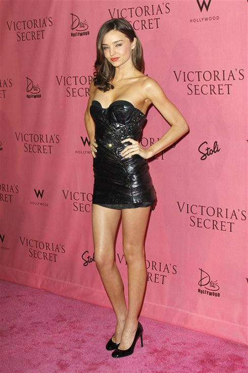 Miranda Kerr appears at the reveal of Victoria&#39;s Secret&#39;s 5th Annual What is Sexy? List in Hollywood on May 11, 2010. <span class=meta>(Tony DiMaio&#47;startraksphoto.com)</span>