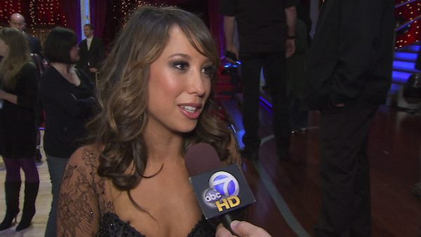 Cheryl Burke speaks to OnTheRedCarpet.com in May 2010 after a performance on 'Dancing With the Stars.'