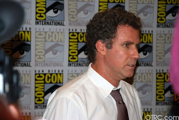 Will Ferrell talks to OnTheRedCarpet.com at 2010 San Diego Comic Con.