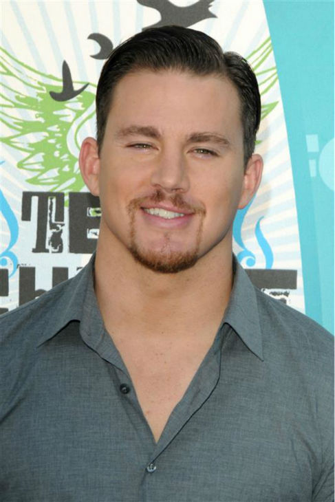 The &#39;Groomed-To-Perfection&#39; stare: Channing Tatum appears at the 2010 Teen Choice Awards in Los Angeles on Aug. 8, 2010. <span class=meta>(Kyle Rover &#47; Startraksphoto.com)</span>
