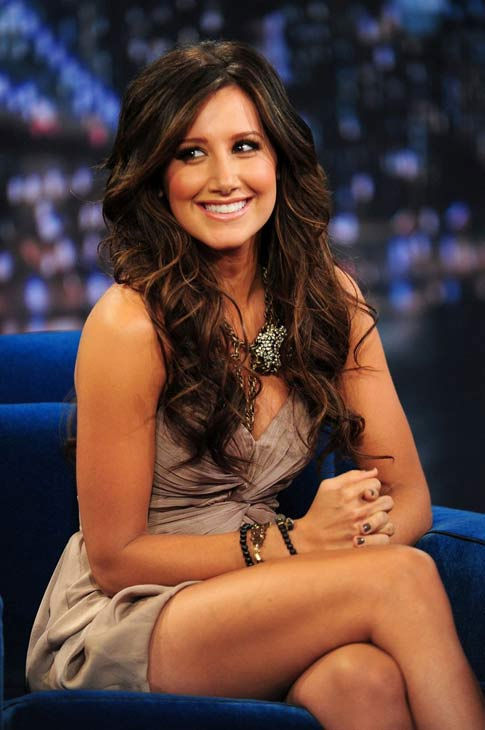 Ashley Tisdale appears in a September 7, 2010 episode of 'Late Night with Jimmy Fallon.'