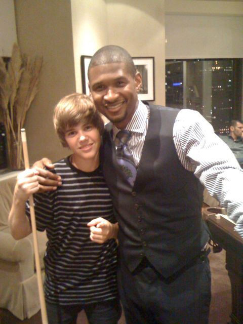 The reason he chose Usher over Justin Timberlake...