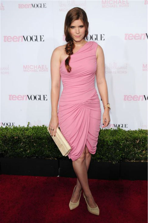Kate Mara appears in a Michael Kors dress at Teen Vogue&#39;s 2010 Young Hollywood party in Los Angeles on Oct. 1, 2010. <span class=meta>(Kyle Rover &#47; Startraksphoto.com)</span>