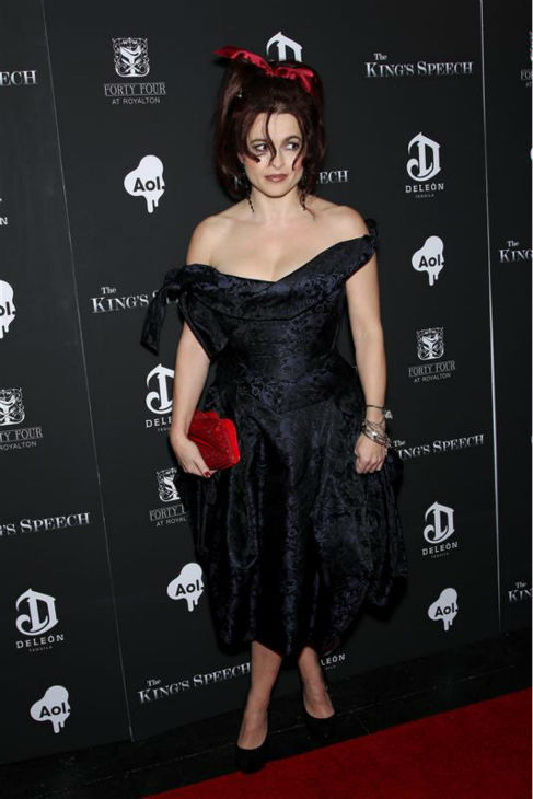 Helena Bonham Carter appears at the premiere of &#39;The King&#39;s Speech&#39; in New York on Nov. 8, 2010. <span class=meta>(Marion Curtis &#47; Startraksphoto.com)</span>