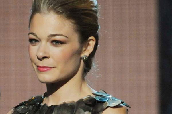 LeAnn Rimes appears at the 2010 CMA Awards.