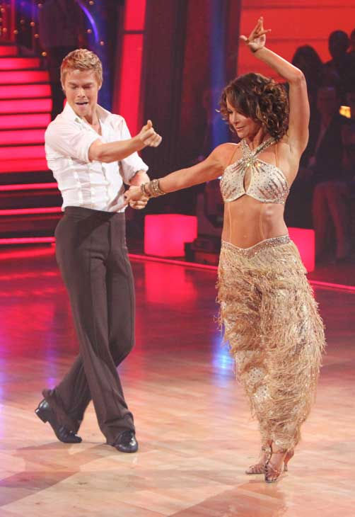 Jennifer Grey and Derek Hough were crowned the season 11 champions of 'Dancing with the Stars' in the fall of 2010. (Pictured: Jennifer Grey and Derek Hough perform on the 11th season finale of 'Dancing With the Stars' on Tuesday, November 23, 2010.)